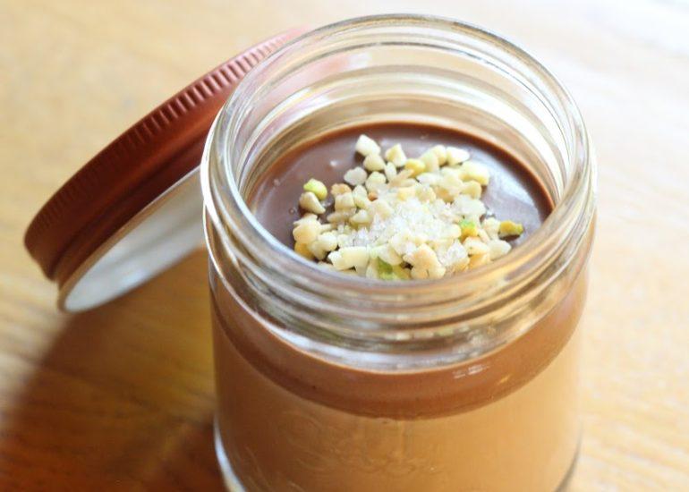 冬季限定の塩チョコプリン 販売開始しました。