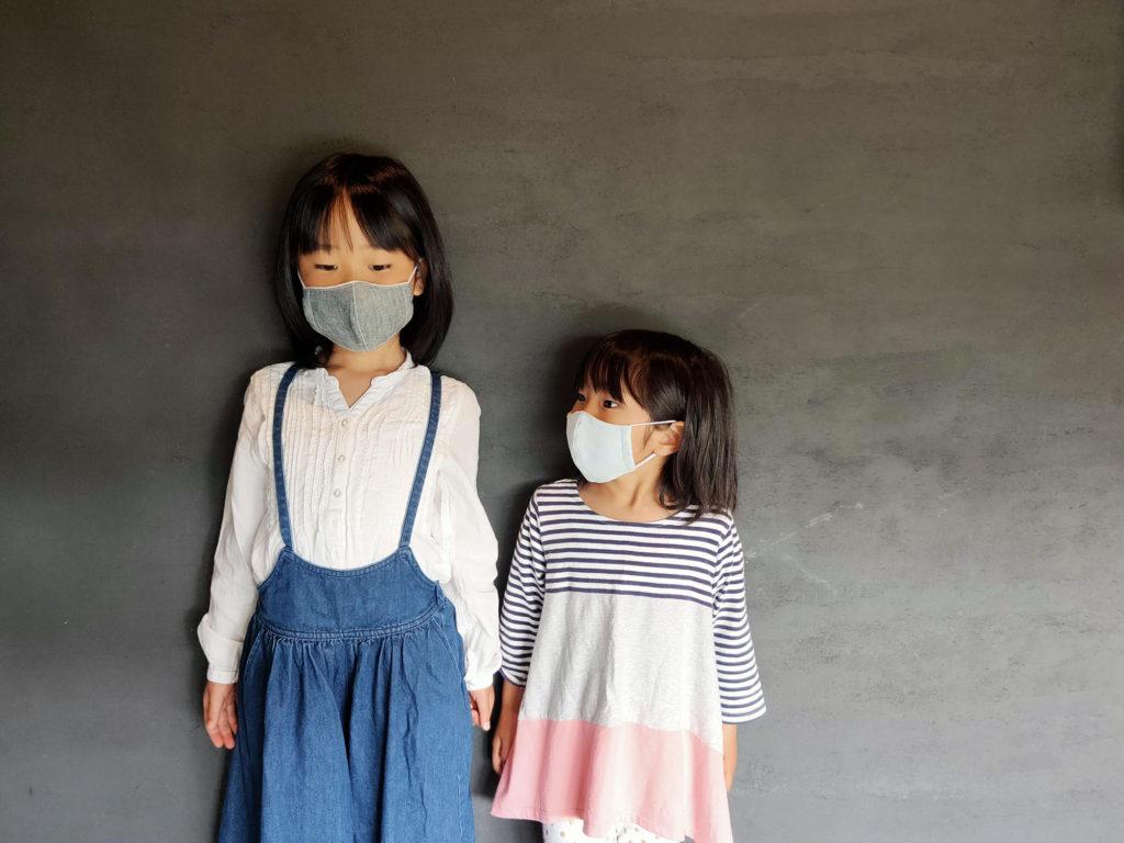 子ども用布マスク ダンガリー
