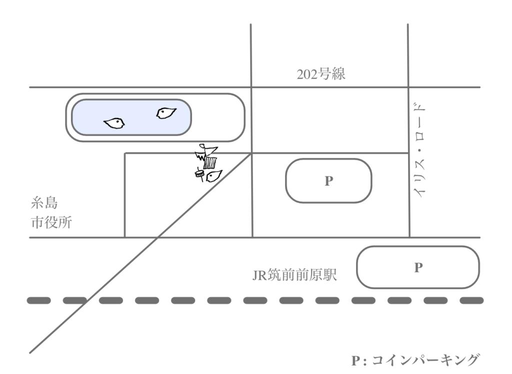 ちいたま周辺パーキングマップ