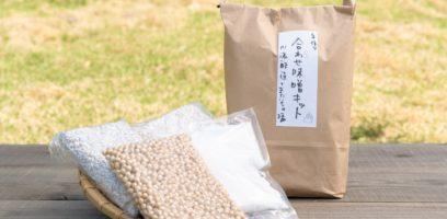 季節限定 またいちの塩+川添酢造 合わせ味噌手作りキット
