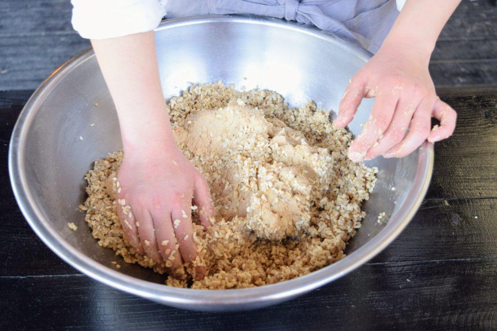 またいちの塩+川添酢造 合わせ味噌手作りキット